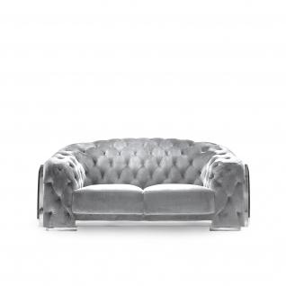 massimo silver gray sofa set