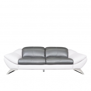Nicolleti White-Gray Conte Sofa