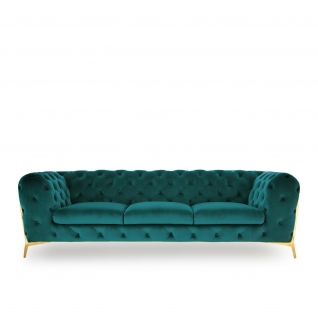 Regina Dark Green Sofa Set