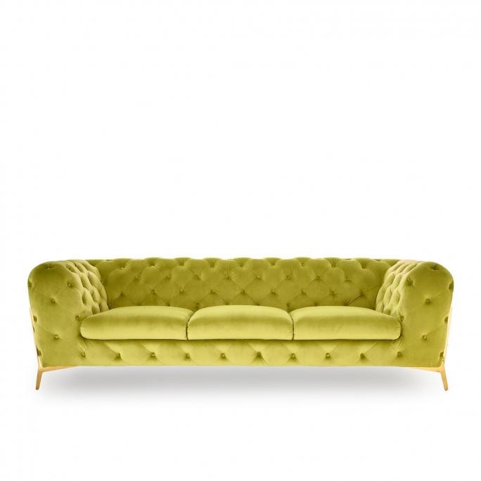 Regina Sofa Set | Light Green