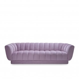 Tulip Purple Sofa Set
