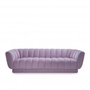 tulip purple sofa set