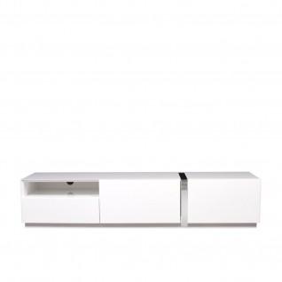 Cronos White TV Stand