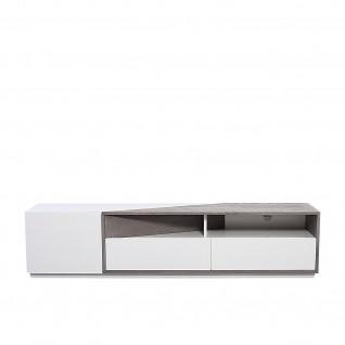 Damiron White TV Stand