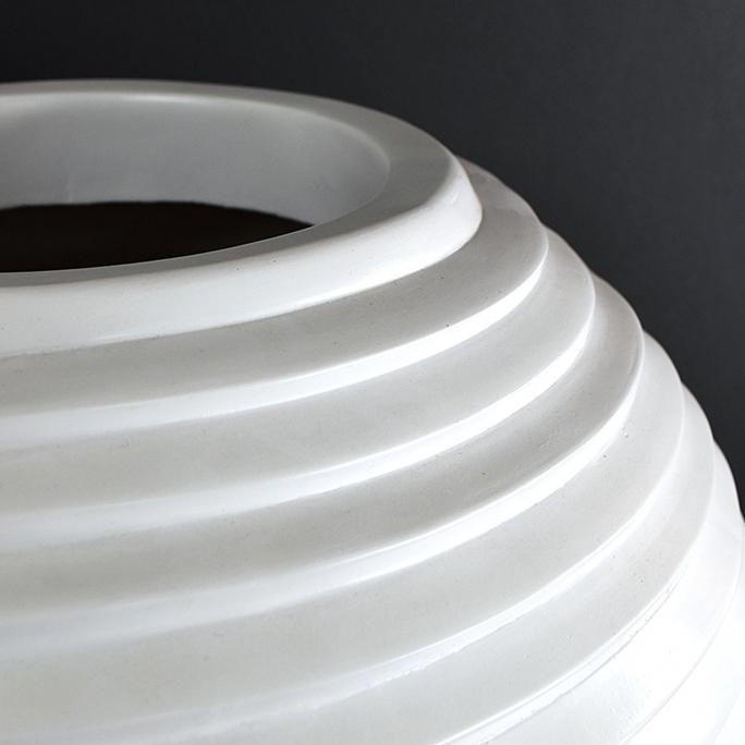 Zoro Aster Modern White Vase